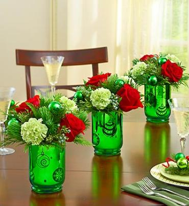 Christmas Trio Centerpiece