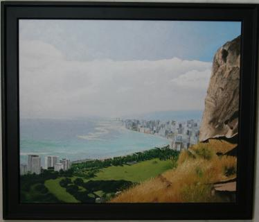 """Overlook of Honolulu\"""