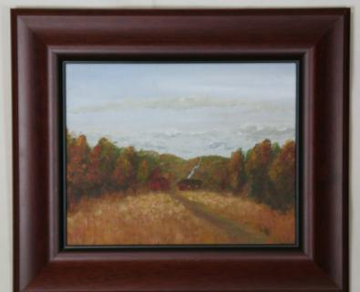 """Fall Farmhouse\"" ***ORIGINAL SOLD***"