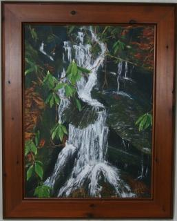 """Appalachian Waterfall\"" **ORIGINAL SOLD**"